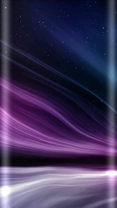 Blue and Purple Galaxy Wallpaper