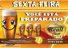 Lugar de beber chopp é em casa. Chopp Reall Disk 4101 0245 - Wathsapp 62 8413 6001.  http://www.choppgoiania.beer