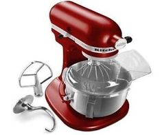 NEW KitchenAid Heavy Duty PRO 500 Stand Mixer Lift ksm500 Metal 5qt 6 Colors EMPIRE RED ER >>> Click image for more details.
