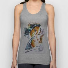 Merging Face Unisex Tank Top by CrismanArt - $22.00