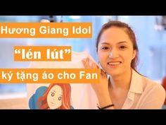 """@Hollie BakerươngGiang #Idol """"lén lút"""" ký tặng áo cho #Fan"""