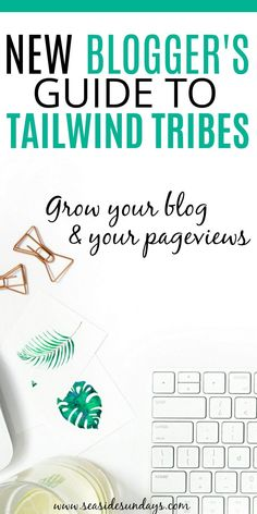 Tailwind tribes are a great way to grow your blog and increase your blog traffic. Use this free tool to get more pageviews for your blog. #tailwind #tailwindtribes