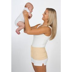 The BabiesRUs post partum support supports your abdomen after delivery helping you return to your regular activities and wardrobe sooner. Ladies delivering C-section find its firm but gentle support especially helpful and comforting as they heal. Fits 24 in - 30 in.