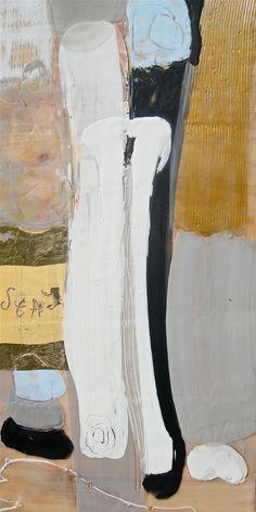 "'Conversation-3' by Antoaneta Melnikova-Hillman | $250 | 12""w x 24""h | Original Art | http://www.arttwo50.com/buy/art/conversation-3"