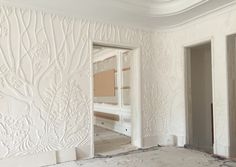 Love a good bas relief! Work by Foster Reeve Architectural and Ornamental Plaster