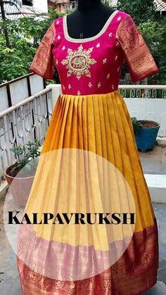 Sari Dress, Anarkali Dress, Saree Gown, Churidar Designs, Lehenga Designs, Indian Designer Outfits, Designer Dresses, Indian Gowns, Indian Wear