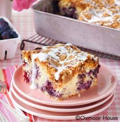 Blueberry Buckle Coffee Cake recipe from Gooseberry Patch