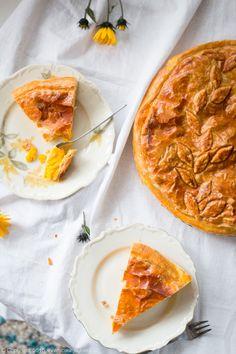 włoska tarta dyniowa, torta di zucca, Italian pumpkin pie, #dynia #pumpkin
