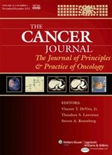The Cancer Journal: The Journal of Principles & Practice of Oncology provides an integrated view of modern oncology across all disciplines. The Journal publishes original research and reviews, and keeps readers current on content published in the book Cancer: Principles & Practice of Oncology. Lippincott Williams & Wilkins @lwwjournals