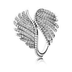 PANDORA | Majestic Feathers PANDORA Statement Ring