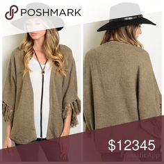 BOGO 50% 🆕 Brown Knit Cardigan Be ready for Fall in this super cozy and trendy cardigan. Price is firm unless bundled. Solid Threads Boutique Sweaters Cardigans