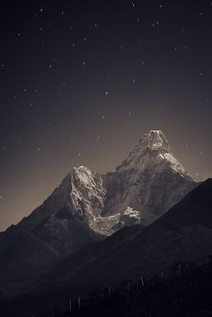 Nepal, Everest region from Tengboche (3,860 m) to Ama Dablam (6,856 m) …