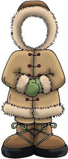 Coat clipart eskimo - pin to your gallery. Explore what was found for the coat clipart eskimo Polo Norte, Clipart, Operation Arctic, Artic Animals, Cultural Crafts, Thinking Day, Winter Activities, Winter Theme, Paper Piecing