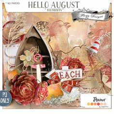 Hello August {Elements PU} by Florju Designs