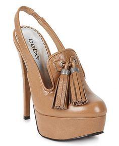 Bebe Shoes, Persimon Platform Pumps - Shoes - Macy's