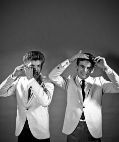 The Everly Brothers, so talented. My heart goes out to the brother who passed. Your songs will live on