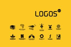 LOGOS V.1 by Mac Creatives, Click see more in Behance
