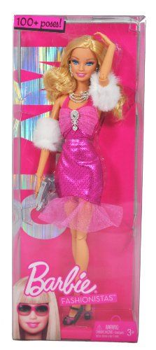 Barbie Year 2009 Fashionistas Series 12 Inch Doll - GLAM Barbie with Pink Neck Strap Party Dress, Faux Fur Arm Wrap, Necklace, Earrings, Purse and Pair of High Heel Shoes (R9878) Barbie http://www.amazon.com/dp/B004GNQFK6/ref=cm_sw_r_pi_dp_giyTtb0BSZJS5RGM
