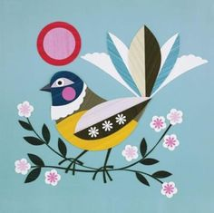 """Piwakawaka""by Ellen Giggenbach"
