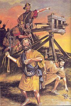 Roman Artillerymen, I Century AD.