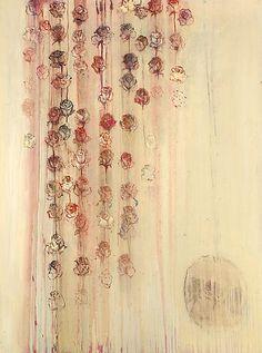 Cream Rose Painting