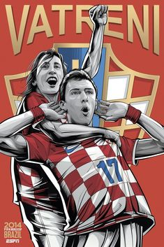 "Croatia, ""Vatreni"" ""Vatreni"" means ""The Blazers"" in Croatian, a nod to both the passion of the players on the pitch and the fans in the stands. Lately, Croatia is also known as ""Bilic's Boys,"" a reference to the team's head coach, Slaven Bilic"