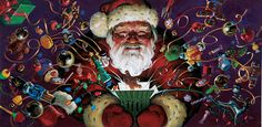RICHARD SOLOMON ARTISTS REPRESENTATIVE: Spotlight on Santa - A Merry Christmas to All