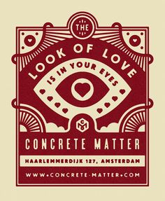 I made Concrete Matter a little Valentine's flyer. http://timboelaars.tumblr.com/post/76220306072/i-made-concrete-matter-a-little-valentines-flyer