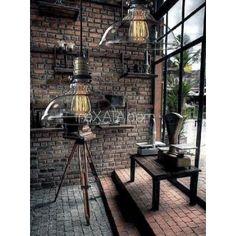 Лампы ЛОФТ в индустриальном стиле. Прозрачный плафон. черный метал, шнур