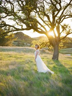 bride in field  #wedding #photography