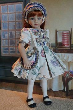 """Adorable  5-Piece Dress Ensemble For Your 20"""" Maru & Friends Dolls #DiannaEffner"""