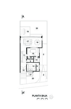 Image 27 of 27 from gallery of V House / Agraz Arquitectos. Plan