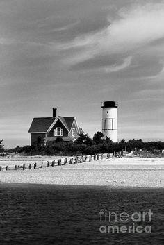 Sandy Neck Lighthouse on Cape Cod, MA