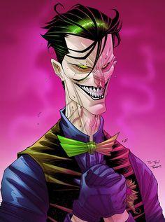 Joker by dirtyandbroken