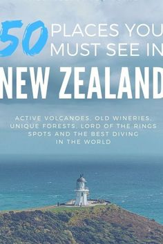 New Zealand is a unique country where you can see everything from sand dunes to glaciers. Here are 50 locations you can't miss when exploring the North Island of New Zealand.  #NewZealand #NZmustDo #NewZealandguide #nzblogger #purenewzealand New Zealand Tattoo, Visit Chile, South America Travel, Australia Travel, Travel Pictures, Cool Places To Visit, Travel Inspiration, Exploring, Island