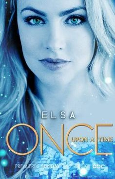 Once Upon a Time - Queen Elsa of Arendelle fan made poster - featuring Amanda Schull