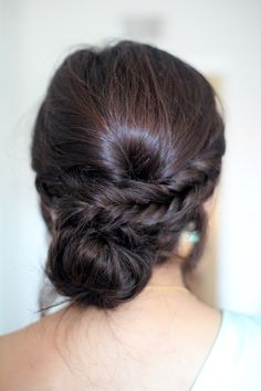 fishtail low updo -- wish there was a tutorial though