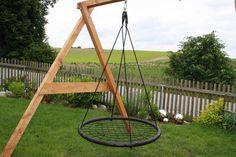 Kids Nest Swing SUPER SWING 100 Seat Set Cushion Climbing Swings 100cm wide NEW