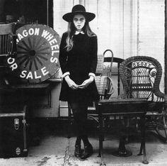 Stephanie Farrow ~ 1968. Photo by Steven Schlesinger