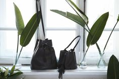"Zofia Chylag - perfect leather bag from Poland. ""Our handbags are made from the highest quality Italian leathers. The designs combine black leather of different textures, patterns, and shades."""