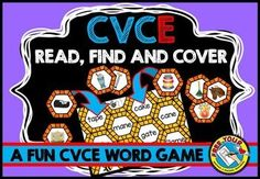 #sale #WORD #WORK: READ, FIND AND COVER - #CVCe WORDS: #READ #WORD AND #MATCH IT WITH #PICTURE  This fun resource will surely engage students! In this pack you will find 4 word mats (#a_e, #i_e, #o_e, #u_e) and the corresponding picture cards (40 in total).   Children select a word from the mat, read it and find the corresponding picture card. They then place the latter on top of the word to cover it. The game ends when all the words are covered with a picture.   #LITERACY #GAME #PHONICS