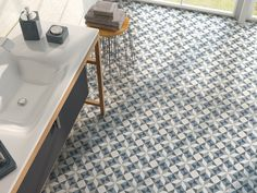 our newly landed porcelain tiles from Spain, suitable for wall, floor or swimming pools. Ideal as a feature or in a swimming pool. Name of Tile: Fiorella Dania Tiles Uk, Wall Tiles, Moroccan Bathroom, Tiles For Sale, Geometric Tiles, Floor Patterns, Decorative Tile, Bathroom Wall, Bathroom Faucets