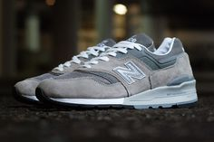 New Balance M997GY: American made perfection | FREE Global Sneaker Shipping | CrookedTongues.com — Selling soles since 2000