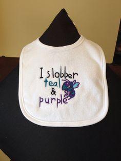 Hornet Baby Bib by WindowOnTheWorld on Etsy, $8.75
