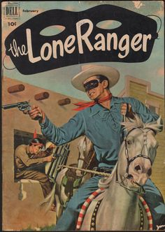 Lone Ranger comic book cover, February 1952 (No. 44)