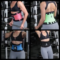 This is the BEST Fitness Sweat Waist band belt available. This belt will assist you with losing unwanted inches around the waist area with increasing perspiration while working out. It also helps with providing support to the abdomen and lower back.The Belt has a unique design that emphasizes proper alignment in your core muscles. Most stress and damage is put on the lower back during exercise. Designed and elaborated with a double layer ultra light net and soft support wire...