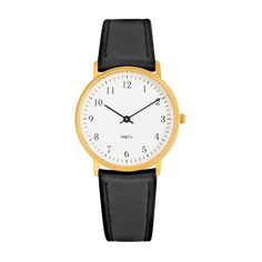 (41) Fancy - Bodoni Brass Watch by M&Co