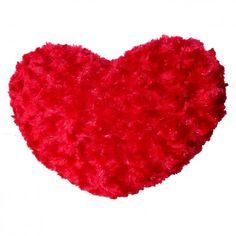 Almofada Pequena Coração Vermelho | SOS Presentes