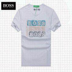 Vendre Pas Cher Homme Hugo Boss Tee Shirts H0006 En ligne En France.