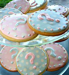 Gender Reveal Party cookies